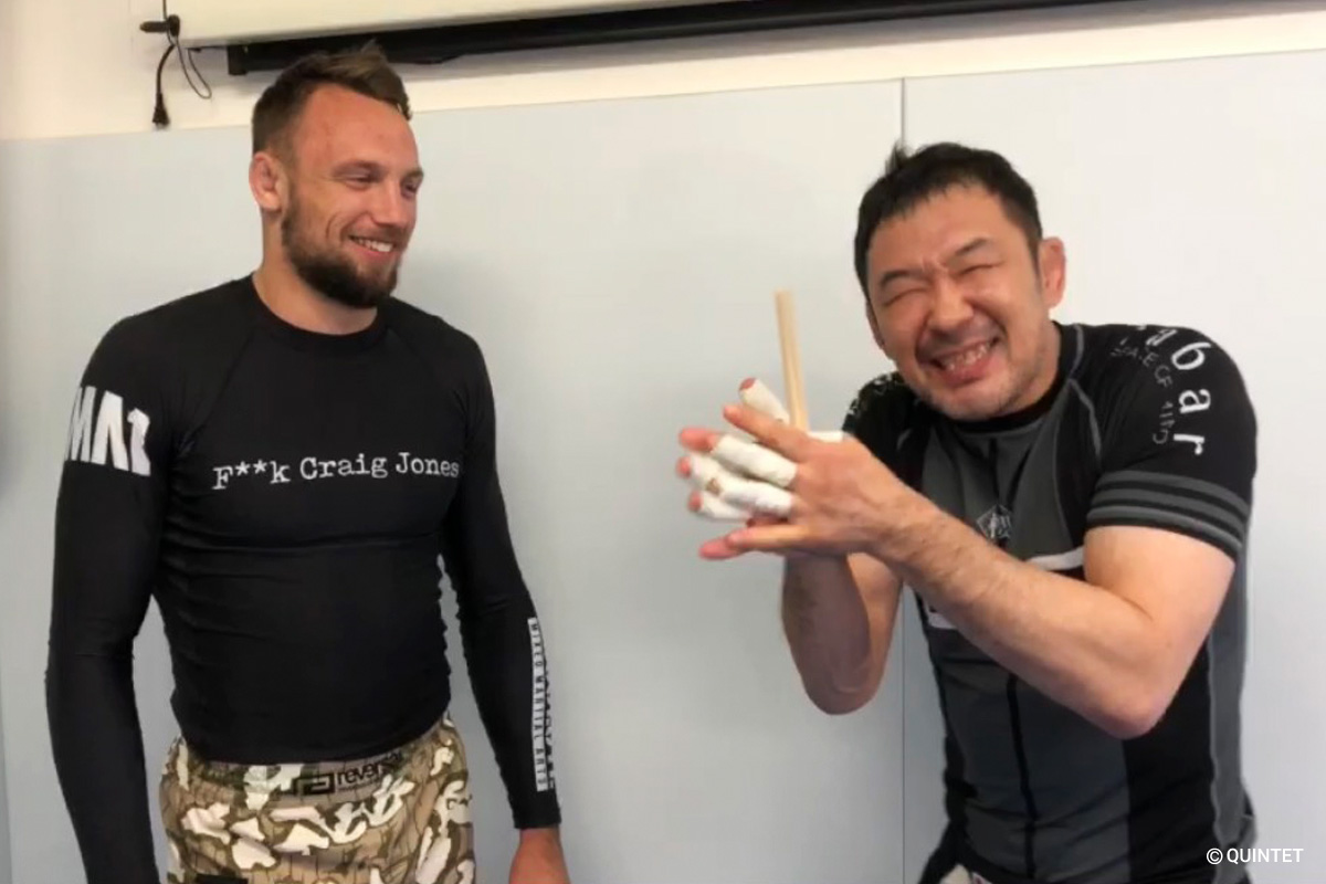 craig jones and kazushi sakuraba