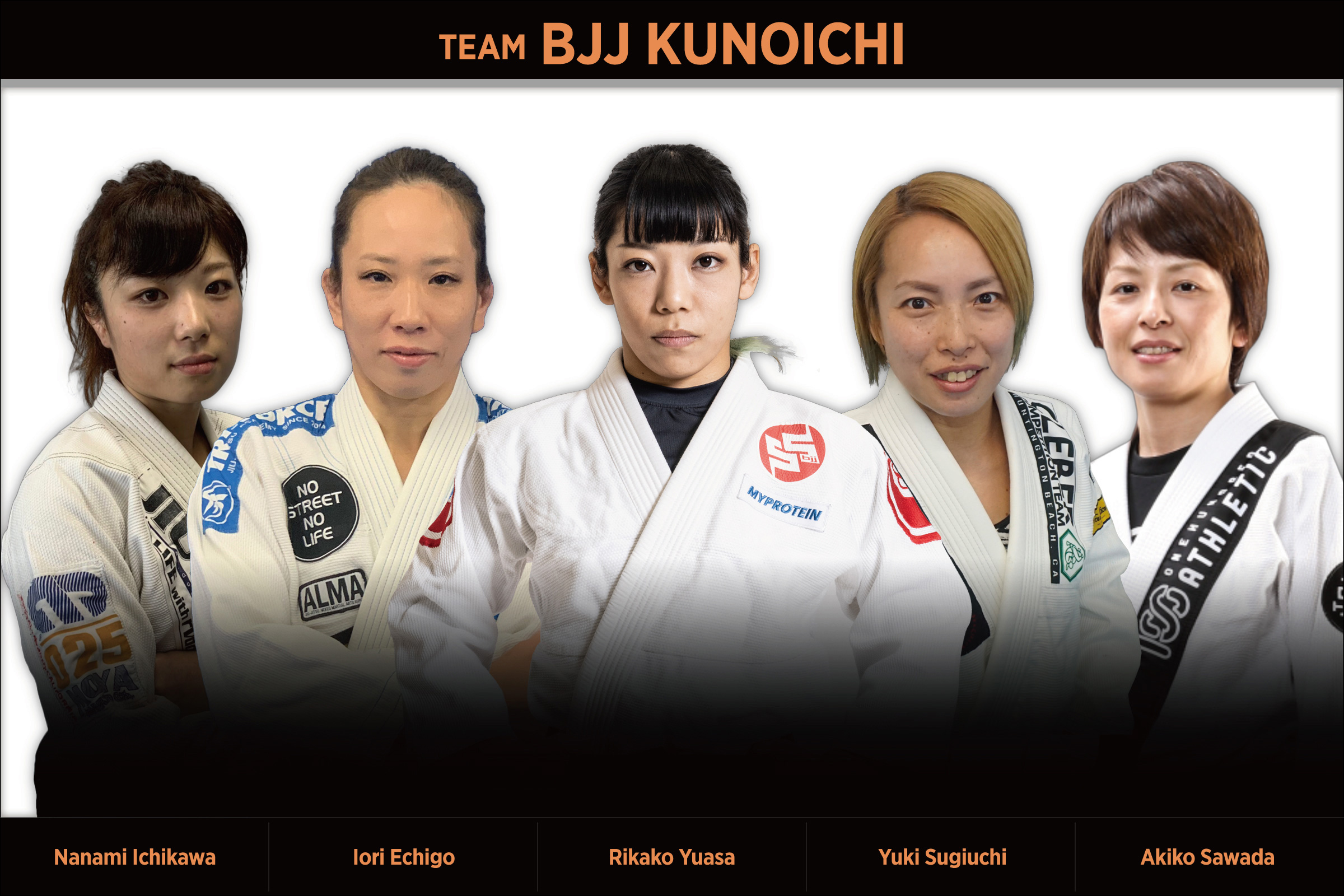 TEAM BJJ KUNOICHI
