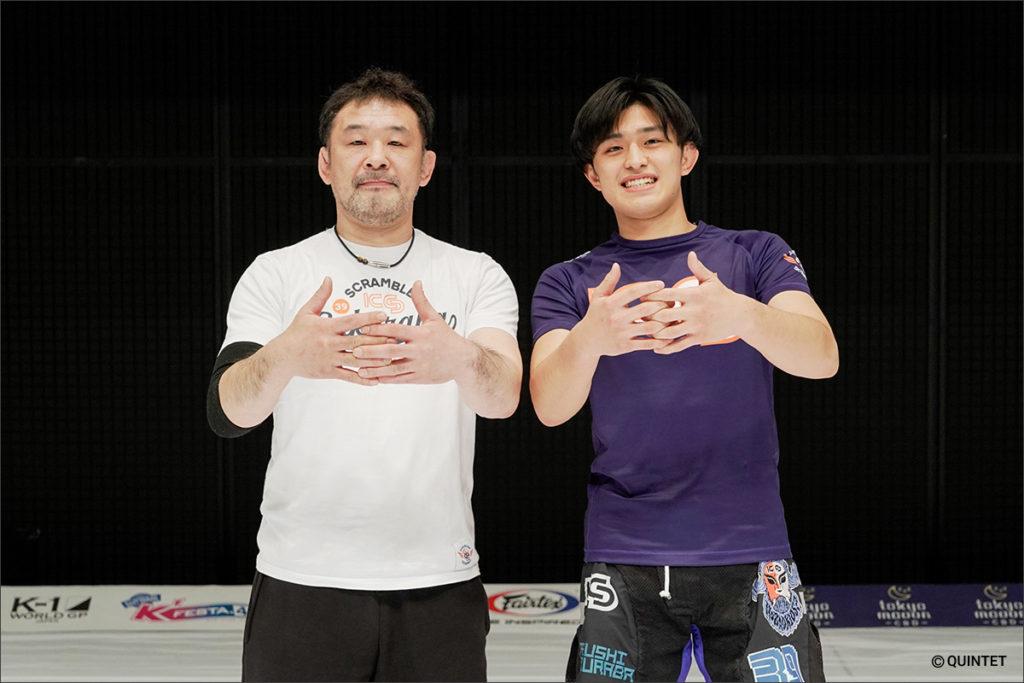 桜庭和志&SAKU Jr.