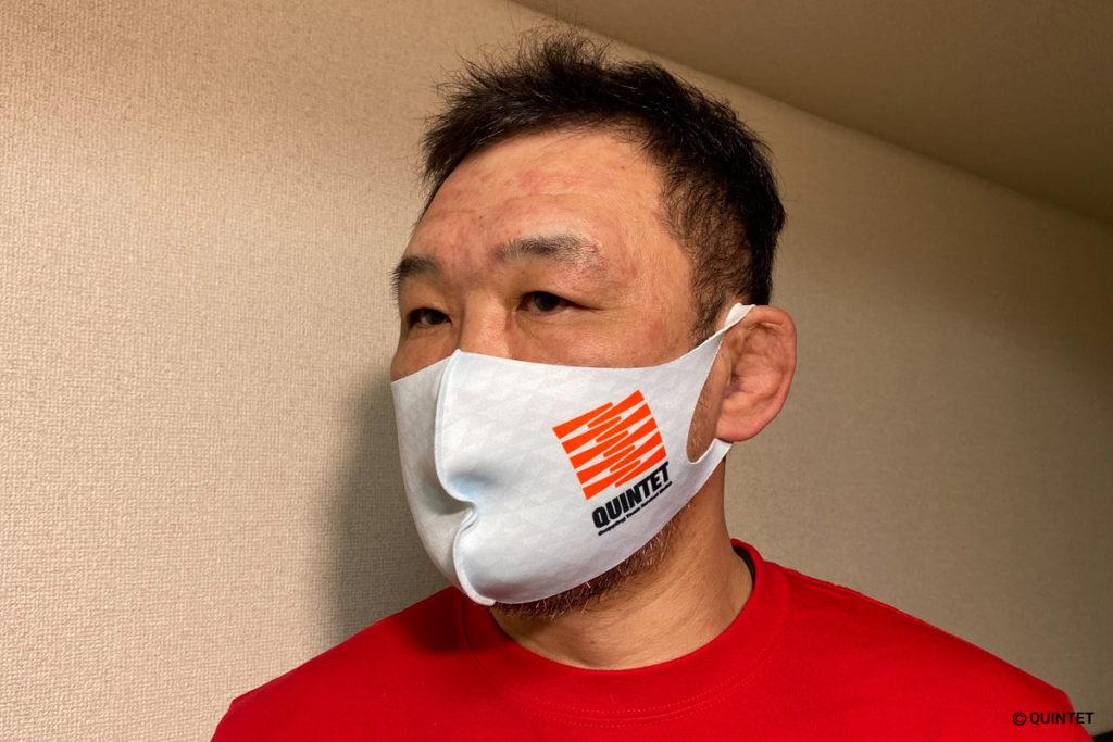 QUINTETロゴマスク