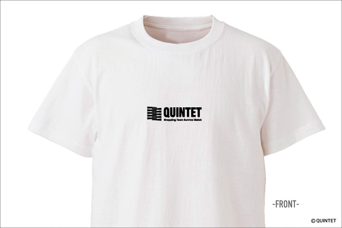 QUINTET2018Tシャツ