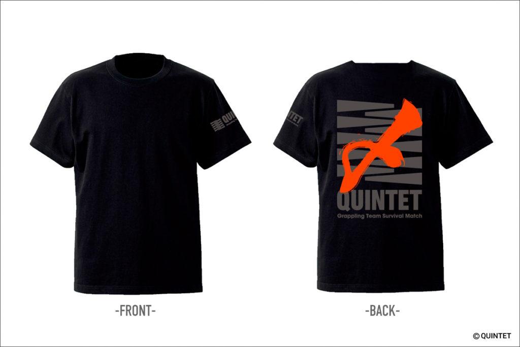 QUINTET〆(絞め)Tシャツ